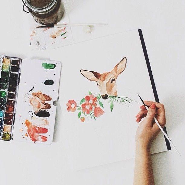 DIY watercolour