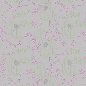 Frolicking Bunnies by Chloe Parsons