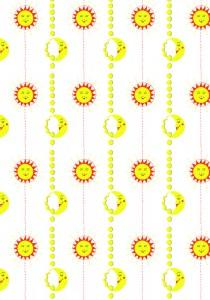 """""""Mr Smiley Sun & Mrs Mellow Moon"""" by Diane Drane"""