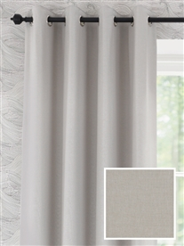 eyelet ready made curtains in Beeston.  100% cotton.