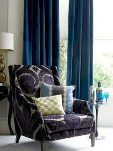 Warm, Interlined  Velvet Curtains