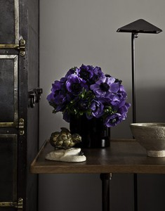 Grey and Purple interior