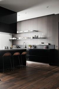 Clean lines in Kitchen