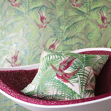 Matthew Williamson Turns To Interiors Natural Curtain