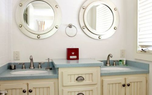 Submarine bathroom