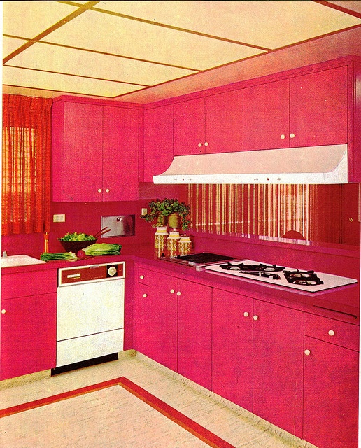 70s hot pink