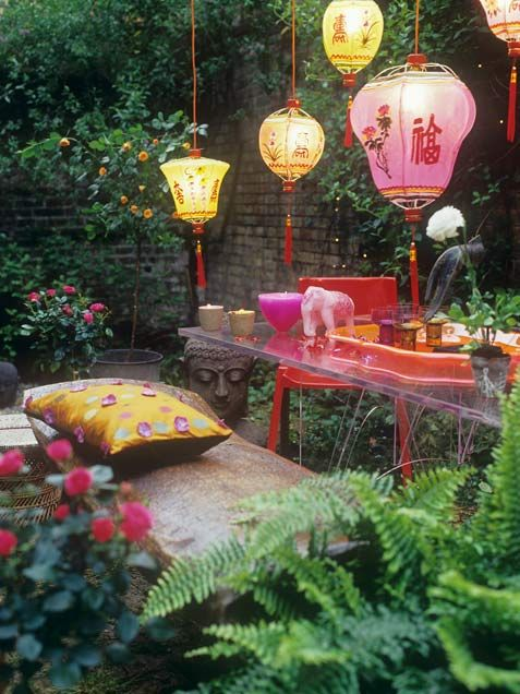 Oriental lighting