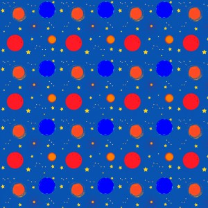 """""""Space Pattern"""" by Hannah Burlace"""