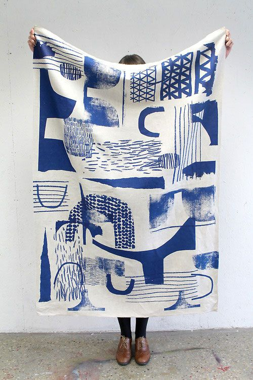 fabric screen print