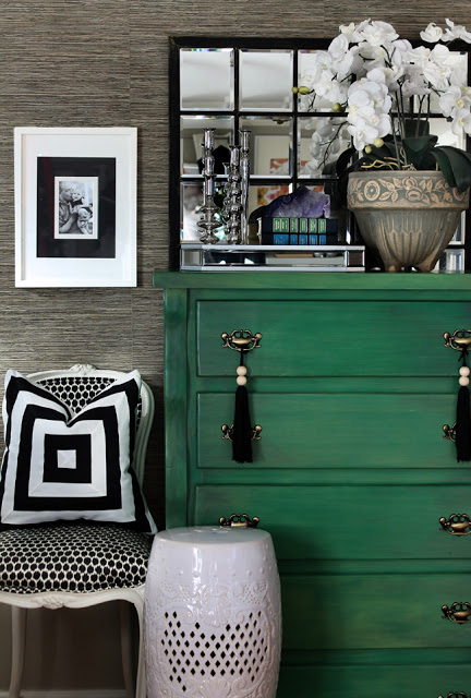 Monochrome with green