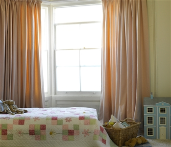 Children's bedroom curtains