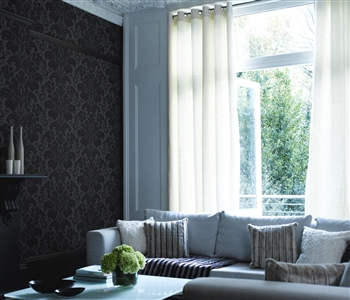 Light eyelet curtains
