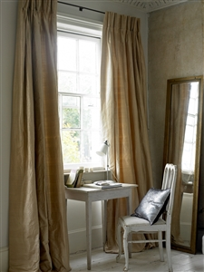Window desk silk curtains