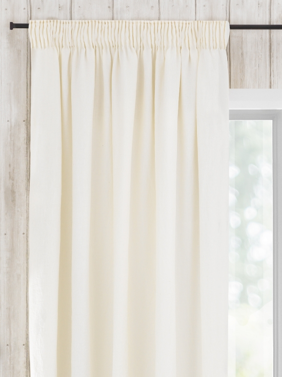 Ready Made Curtains In May 100 Linen Natural Curtain