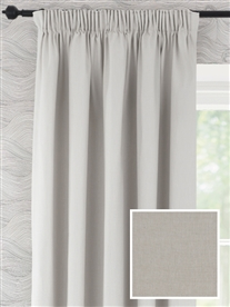 pencil pleat ready made curtains in Beeston.  100% cotton.