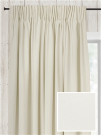 pencil pleat ready made curtains in Lily. 100% cotton.