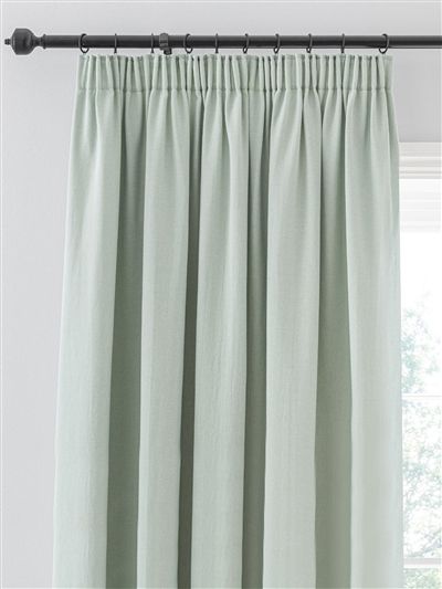 pencil pleat ready made curtains in Appleby.  100% cotton.