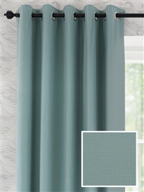 eyelet ready made curtains in Toppin.  100% cotton.