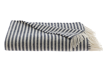 Sailor Blue Wool Senjo Throw