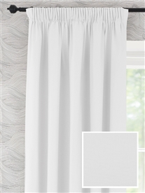 pencil pleat ready made curtains in Wilton. 100% cotton.