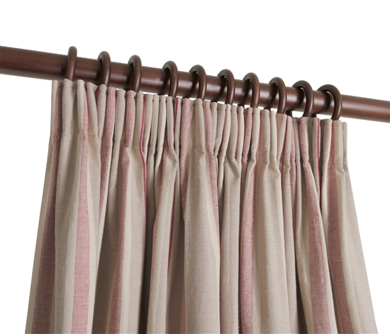 ready made pencil pleat curtains in osea natural curtain. Black Bedroom Furniture Sets. Home Design Ideas