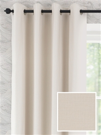 eyelet ready made curtains in Melandra.  100% cotton.