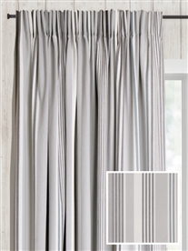 pencil pleat ready made curtains in Amarillo.  100% cotton.
