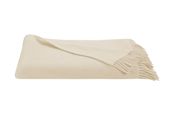 Cream Pure Wool Dansko Throw
