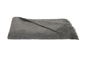 Grey Pure Wool Dansko Throw