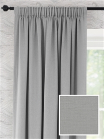 pencil pleat ready made curtains in Windsor.  100% cotton.
