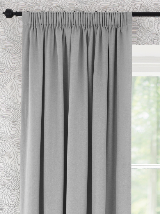 Ready Made Curtains In Windsor 100 Cotton Natural