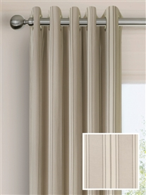 eyelet ready made curtains in Rathlin.  100% cotton.