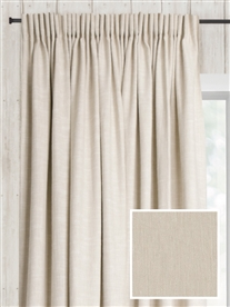 pencil pleat ready made curtains in Austin.  100% cotton.