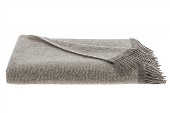 Grey Shades Wool Adelso Throw
