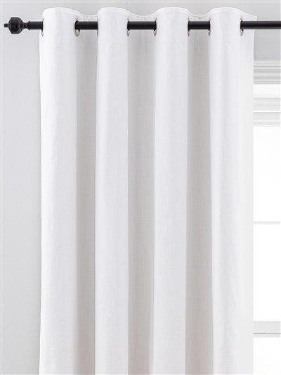 eyelet ready made curtains in Wilton.  100% cotton.