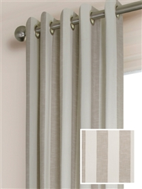 eyelet ready made cotton curtains in Florida.  60% off.