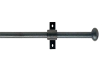Artisan 12mm Mini Cannon Black Wrought Iron Pole