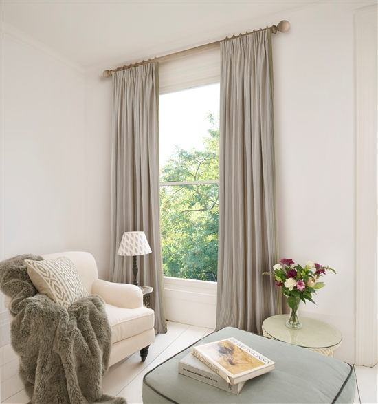 pencil pleat ready made curtains in rodeo 100 cotton. Black Bedroom Furniture Sets. Home Design Ideas