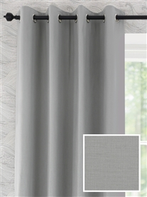 eyelet ready made curtains in Windsor.  100% cotton.