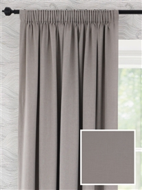 pencil pleat ready made curtains in Greystoke.  100% cotton.
