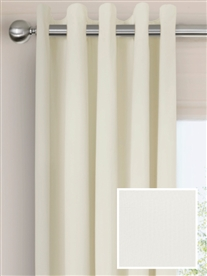 eyelet ready made curtains in Lily. 100% cotton.