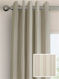 eyelet ready made curtains in Mersea.  100% cotton.
