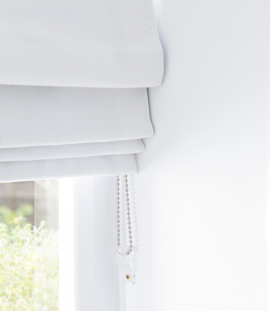 How To Hang A Roman Blind Natural Curtain Company